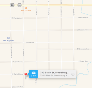 730 South Main, Greensburg KS